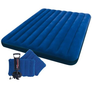 Intex Queen Size Classic Downy Airbed with 2 Pillows
