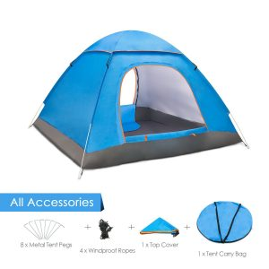 Amagoing 3-4 Person Family Camping Tent
