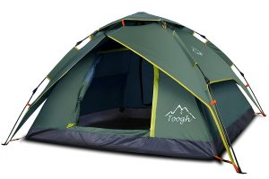 Toogh 2-3 Person Camping Tent 4 Season Backpacking Tent